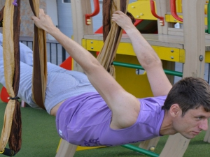 Брюки для йоги женские